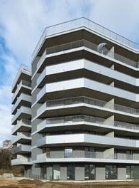 Housing Complex Anton - detail of facade