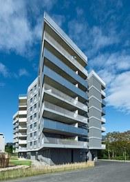 Housing Complex Anton - east facade