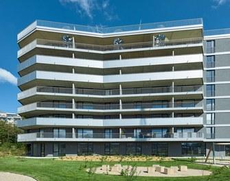 Housing Complex Anton - south facade