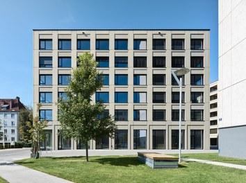 Stadtwerk West - east facade