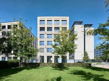 Stadtwerk West - south facade
