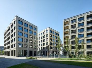 Stadtwerk West - courtyard