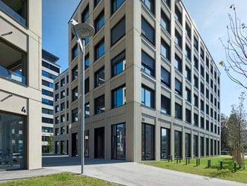 Stadtwerk West - detail of facade