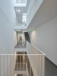 Stadtwerk West - staircase