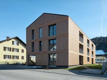 Housing Complex Zwischenwasser - view from street