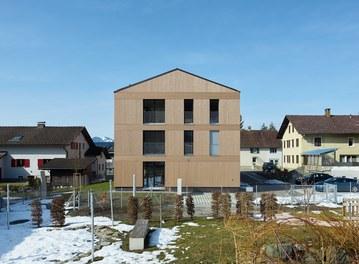 Housing Complex Zwischenwasser - view from east