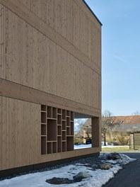 Housing Complex Zwischenwasser - detail of facade