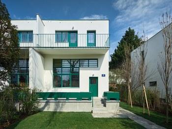 Werkbundsiedlung Restoration - House Loos - south facade