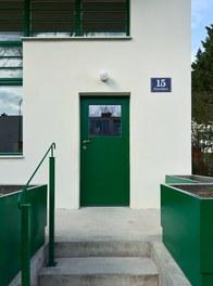Werkbundsiedlung Restoration - House Loos - entrance
