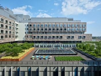 Hospital Krankenhaus Nord - rooftop terrace