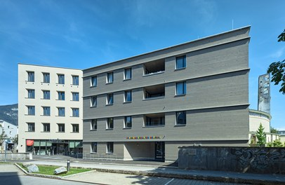 Katholisches Kompetenzzentrum Herrnau - west facade