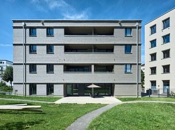 Katholisches Kompetenzzentrum Herrnau - east facade