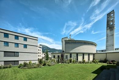 Katholisches Kompetenzzentrum Herrnau - urban-planning context