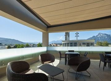 Katholisches Kompetenzzentrum Herrnau - terrace