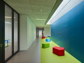High School ENK; conversion - corridor