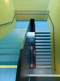 High School ENK; conversion - staircase
