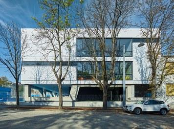 High School ENK; conversion - south facade
