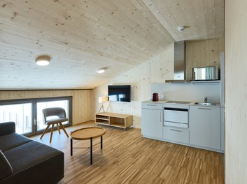 Teamhotel Salober - living-dining room